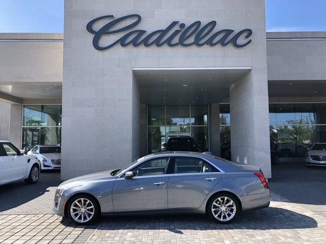 Pre-Owned 2018 Cadillac CTS 2.0L Turbo Luxury