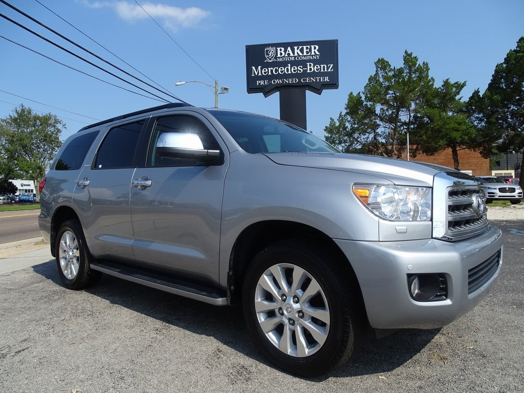Pre-Owned 2017 Toyota Sequoia Platinum