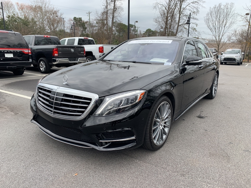 Pre-Owned 2017 Mercedes-Benz S-Class S 550 Sport