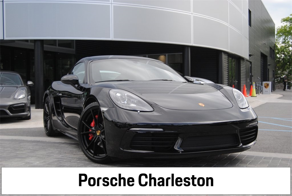 Pre-Owned 2019 Porsche 718 Cayman S