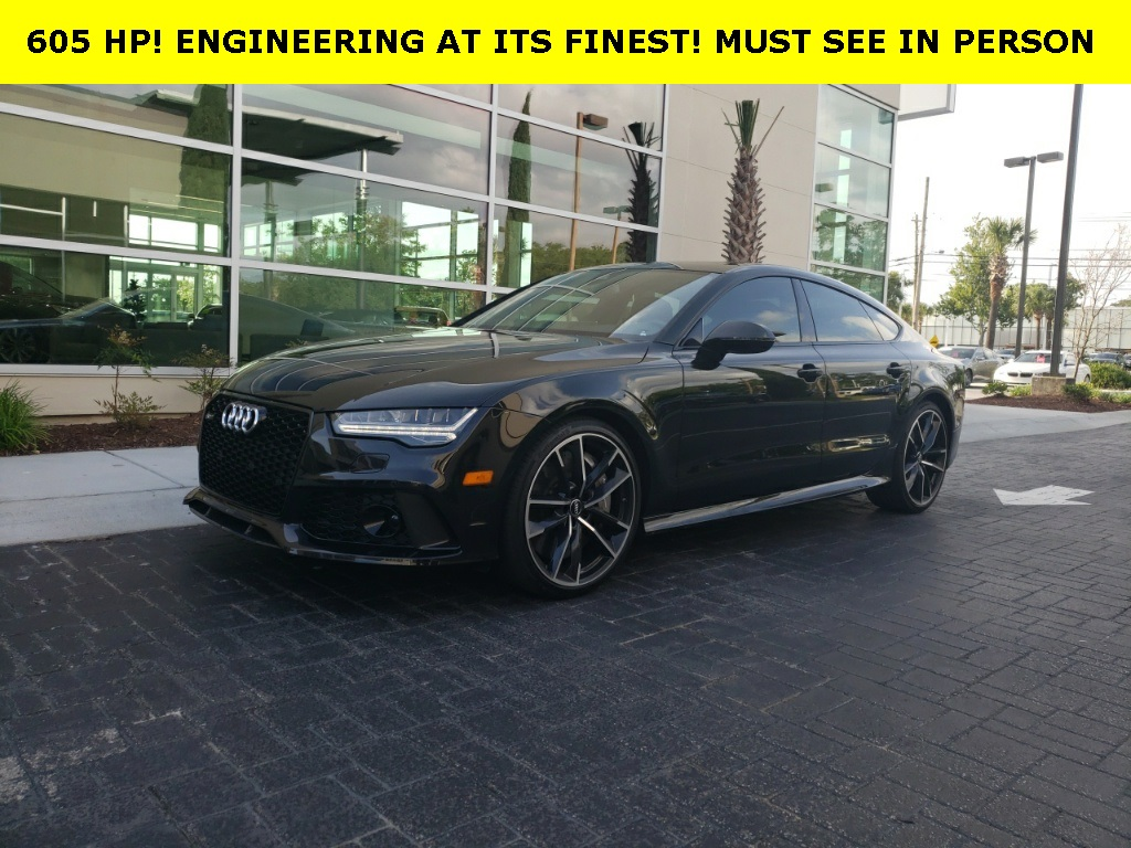 Pre-Owned 2017 Audi RS 7 4.0T Performance Prestige