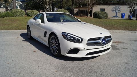 Certified Pre-Owned 2018 Mercedes-Benz SL-Class SL 550